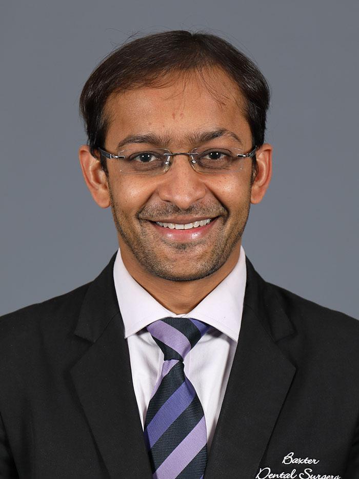 Expert Principal Dentist - Dr. Dhruvin Patel